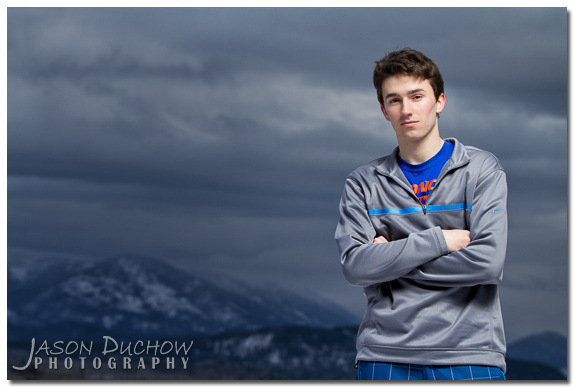 Senior Portrait by Sandpoint Photographer Jason Duchow