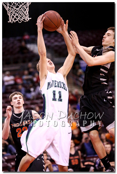 Post Falls vs. Mountain View - 2013 Idaho State Basketball Tournament