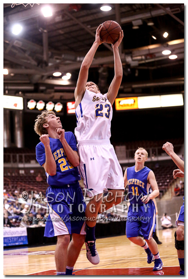 Salmon River vs. Nezperce- 2013 Idaho State Basketball Tournament