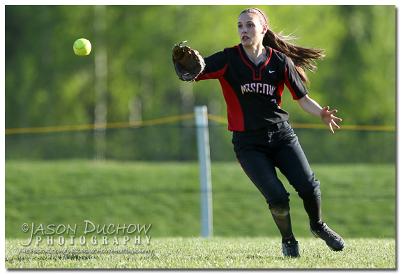Sandpoint vs Moscow Softball on May 9, 2013