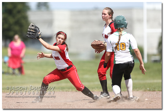 Sandpoint vs. Lakeland softball