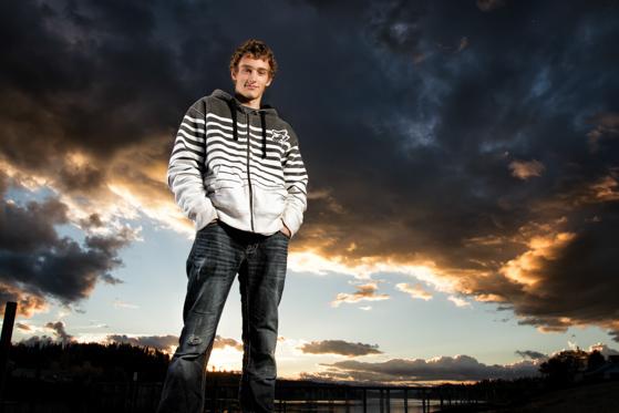 Senior Portrait in Priest River Idaho