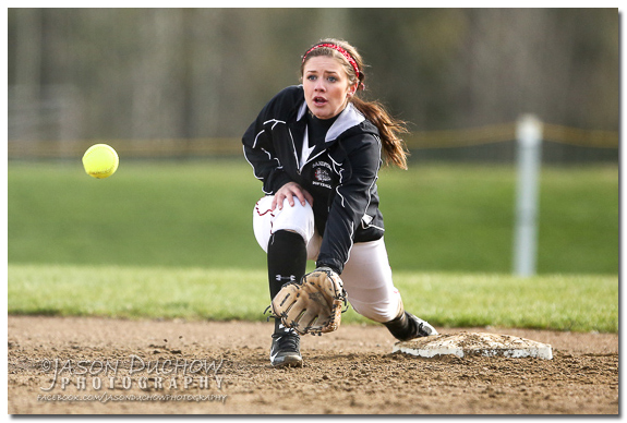 Priest River at Sandpoint softball