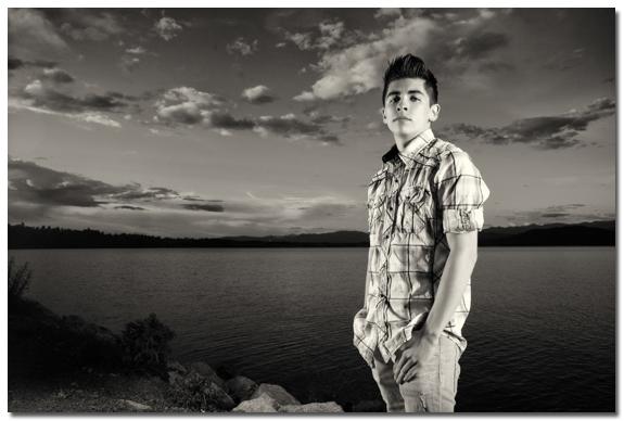 Lake Pend Orielle Senior Portrait