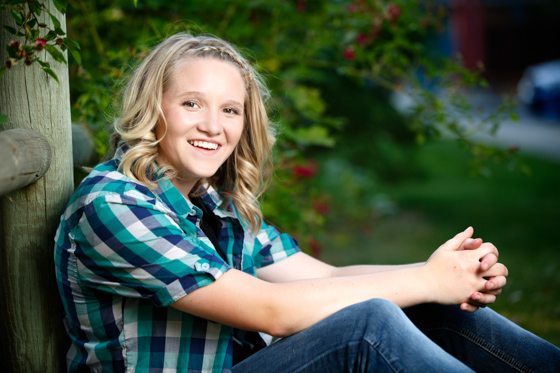 Senior photos of Angelique from the Lakeland High School class of 2014 taken near Post Falls and Rathdrum Idaho