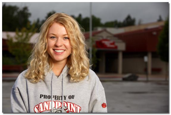 Senior Portrait by Sandpoint high School