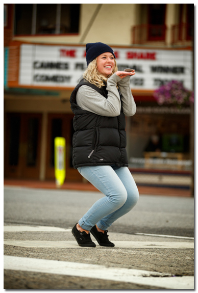 Senior Photo Outtakes in Sandpoint, Idaho