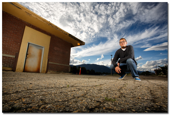 senior photo in sandpoint