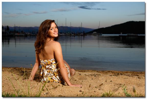 Breanna's senior photos in Sandpoint, Idaho