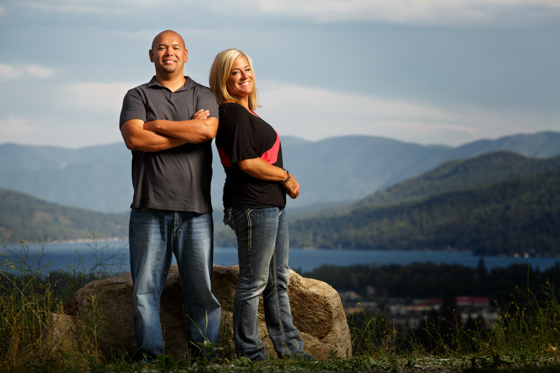 Nick & Laura Engagement - Coeur d'Alene Photographer 0014