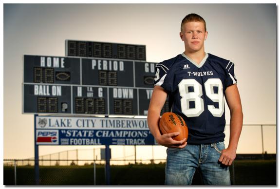 Lake City High School Football portrait