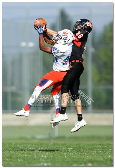 Varsity and Junior Varsity football between Graham Kapowsin and Post Falls High School