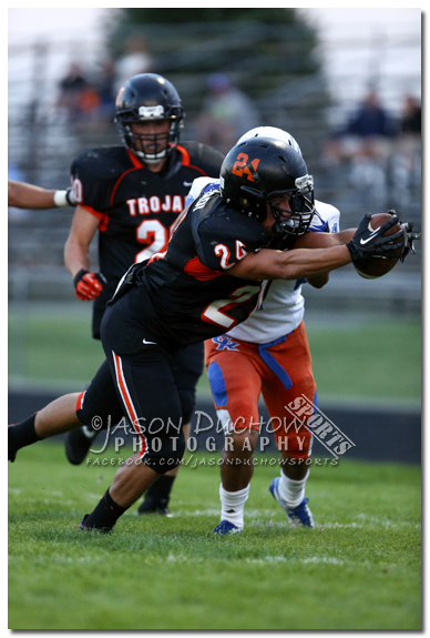 Varsity and Junior Varsity football between Graham Kapowsin and Post Falls High School