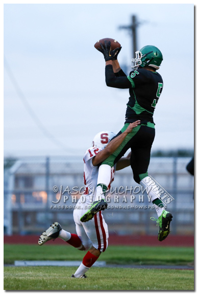 Varsity football between Sandpoint and  East Valley High School in Spokane Valley.