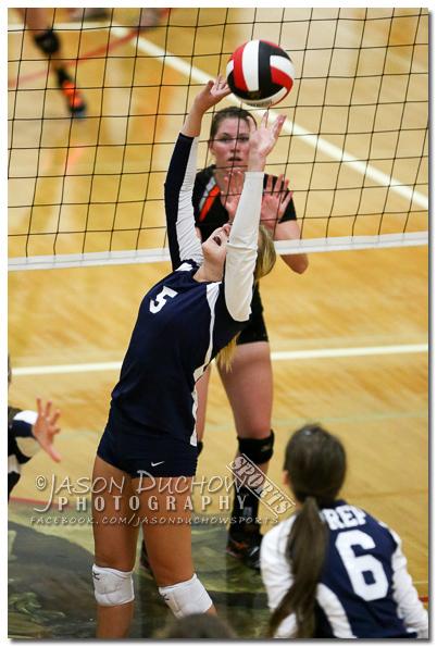 Varsity volleyball between Sandpoint, Post Falls and Gonzaga Prep
