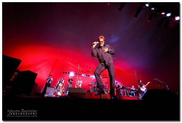 Huey Lewis performs at the 2014 Festival at Sandpoint