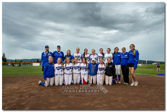 Coeur d'Alene 2nd place softball finish