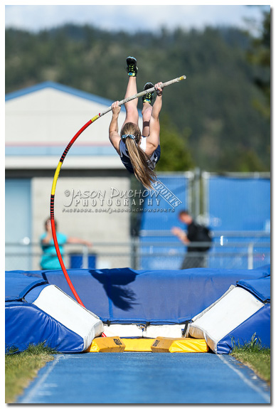 Lake City Pole Vaulter