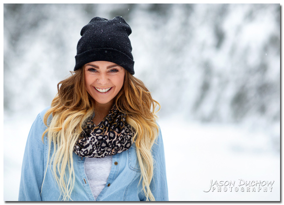 Winter Senior Portraits 014