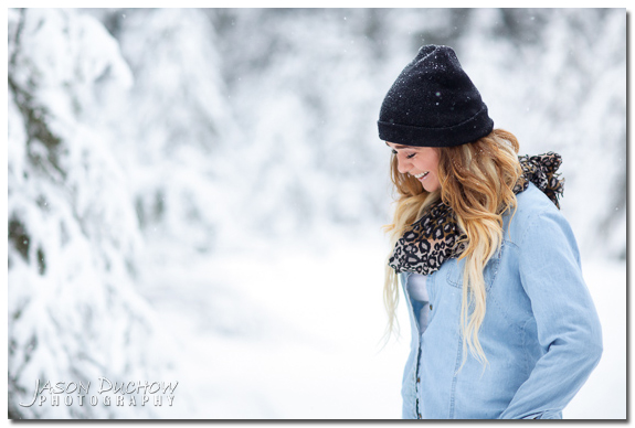 Winter Senior Portraits 017