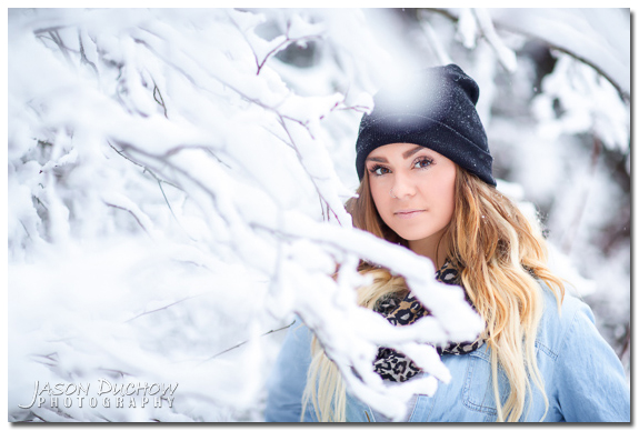Winter Senior Portraits 018