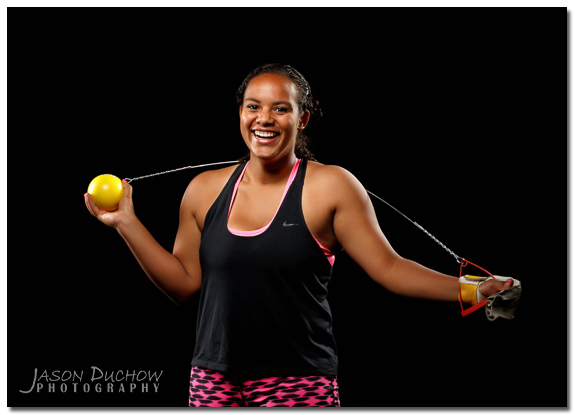 Hammer Thrower Senior Portrait
